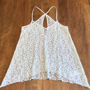 Lace Hollister Tank Top